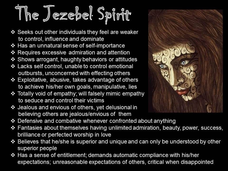 KNOWLEDGE & AWARENESS – WHAT IS A JEZEBEL SPIRIT